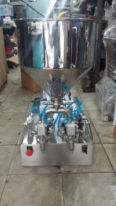 Máy chiết mỹ phẩm 2 vòi – Thiết bị chiết rót mỹ phẩm, nguyên liệu dạng lỏng 2 vòi bán tự động