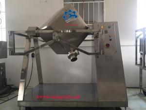 Máy trộn bột công suất lớn – Chế tạo máy trộn bột hình lập phương chất lượng tốt