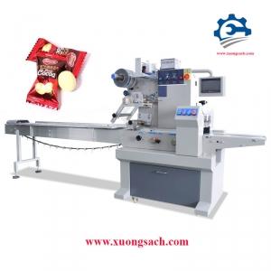 Máy đóng gói bánh kẹo – Chuyên thiết kế và chế tạo máy đóng gói bánh kẹo tự động, tốc độ cao