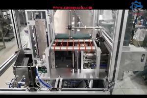 Máy gấp mặt nạ bán tự động – Chuyên cung cấp máy xếp mặt nạ vào túi cao cấp