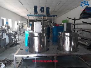 Máy nhũ hóa mỹ phẩm – Chuyên chế tạo bồn khuấy trộn, đồng hóa mỹ phẩm chất lượng tốt, giá rẻ