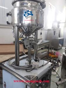 Máy chiết rót chất lỏng – Giá máy chiết rót nguyên liệu dạng lỏng, sệt 1 vòi bán tự động