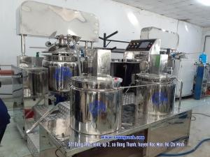 Máy nhũ hóa mỹ phẩm - Chuyên cung cấp và chế tạo bồn khuấy trộn nhũ hóa mỹ phẩm giá rẻ