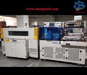 Máy đóng gói co màng tự động – Chế tạo máy bọc màng co nhiệt, máy co màng chai nước chất lượng tốt