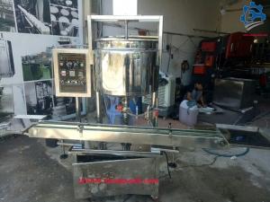 Máy chiết 1 vòi có gia nhiệt – Chuyên cung cấp máy chiết kem, mỹ phẩm gia nhiệt có băng tải
